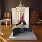 Exhibition St.Martin Graz table sculptures