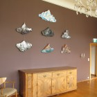 Exhibition St.Martin Graz wall objects mountains