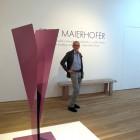 Fritz Maierhofer sculpture Ruthin exhibition 2015
